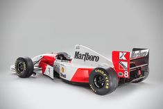 Ayrton Senna's 1993 McLaren MP4/8A F1 Car | HiConsumption