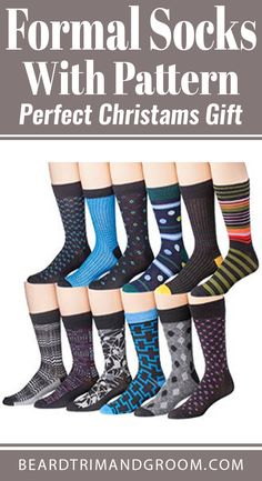 Formal socks with patterns make a perfect Christmas gift for men or husband, boyfriend, brother, dad and a friend. Christams Gifts, Toddler Christmas Gifts, Creative Christmas Gifts, Christmas Gifts For Boyfriend, Diy Holiday Gifts, Christmas Gifts For Friends, Perfect Christmas Gifts, Toddler Gifts, Boyfriend Gifts