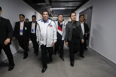 President Rodrigo R. Duterte and Pastor Apollo C. Quiboloy showed full support to Gilas Pilipinas in its match with Italy last night in Foshan City for the FIBA World Cup