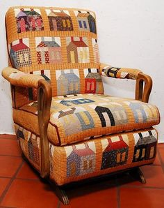 Quilter's chair...great idea!