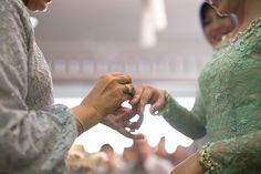 Acara Lamaran dengan Tema Warna Mint Green - E_0327