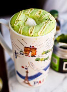 Mint Matcha Green Tea Latte Urth Caffe, Santa Monica copycat