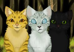 The Power of Three by aThousandPaws on deviantART