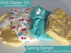 Cloth Diapers 101.