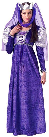 Adult Renaissance Queen Costume - Renaissance Costumes