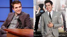 Zac Efron and Robert Pattinson