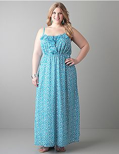 Lane Bryant...so cute!  I have been living in Lane Bryant dresses this pregnant summer.