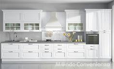 Cucina Ginevra - Mondo Convenienza | Kitchen | Kitchen, Kitchen ...