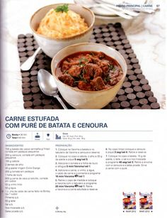 Portuguese Recipes, Happy Foods, Pasta, Yummy Appetizers, Chana Masala, Steak, Food And Drink, Menu, Yummy Food