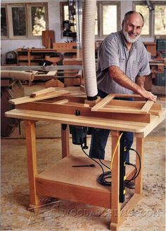 Ultimate Router Table Plans - Router Tips, Jigs and Fixtures | WoodArchivist.com