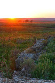 Kansas Flint Hills sunset. Seen this many many times.