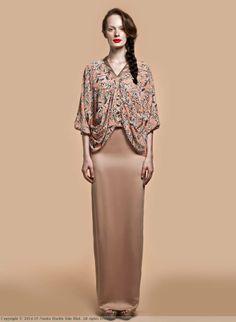 Carla, Nurita Harith Raya RTW 2014. A modern take on baju kurung.
