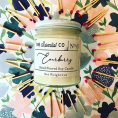 Blue Candles, Diy Candles, Candle Wax, Soy Wax Candles, Scented Candles, Beautiful Candles, Burning Candle, Candle Making, Cherry Blossom
