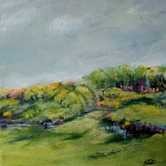 Painting for sale by Helle Lundsgaard Christensen   20 x 20 cm   Experienced Artist