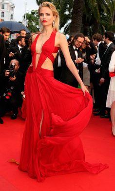 Natasha Poly At Cannes Film Festival 2012