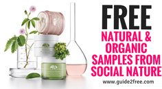 Update: Just got invited to try a natural bug killer!GetFREE Natural & Organic Samples from Social Nature! Sign up and fill out your profile information. When they are offering a product they think you will love they will send you an email invite for the free sample.
