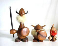 Set of 3 Mid Century Danish Viking by 4EnvisioningVintage on Etsy $62.00