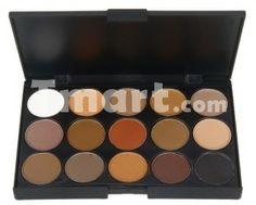 15 Dazzling Colors Eyeshadow Makeup Palette - Tmart.com