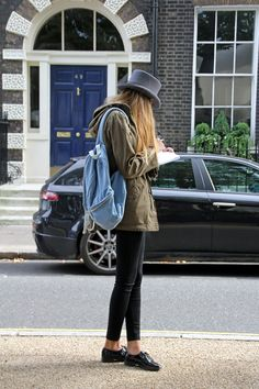 Bedford Square, London. #streetstyle