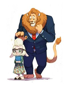 I guess Mayor Lionheart chose her, only because of her cotton candy hair as well