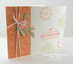 February 5, 2014 By Becky Jensen Stamp That:  Petal Parade, Sweet Sorbet, Petite Petals, Little Leaves die