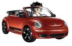 Betty Boop 2010 VW Beetle