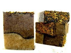 Organic vegan soap -  the BACKWOODS bar - Organic soap, vegan soap, handcrafted soap, natural soap, camping soap. $7.00, via Etsy.