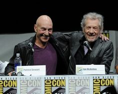 Sir Patrick Stewart and Sir Ian McKellen's friendship is the best friendship in the world.... And most certainly one of THE most adorable! <3