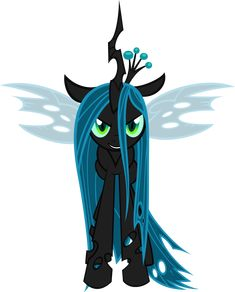 Queen Chrysalis by NabbieKitty on DeviantArt Mlp My Little Pony, My Little Baby, My Little Pony Friendship, Fluffy Puff, Queen Chrysalis, Gothic Metal, Pony Drawing, Mlp Pony, Deviantart