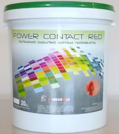 POWER CONTACT RED 20Kgr Container, Red, Rouge