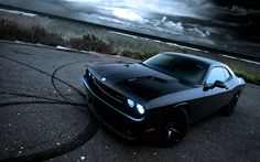 cars,black black cars dodge challenger srt black cars 1920x1200 ...