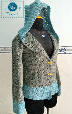 Crochet pattern for hooded sweater. ~k8~