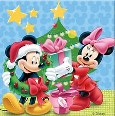 Mickey Mouse Cartoon, Mickey Mouse And Friends, Mickey Minnie Mouse, Disney Merry Christmas, Minnie Mouse Christmas, Disney Holidays, Walt Disney, Disney Fun, Image Mickey