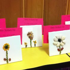 Mothers day craft idea, 2nd grade. So doing this next year!
