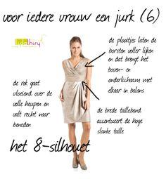 Voor iedere vrouw een jurk - het 8-silhouet
