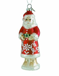 Classic Santa Glitter Ornament -- Read more reviews of the product by visiting the link on the image.