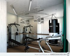 15 Cool Home Gym Ideas