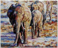 "Saatchi Online Artist: jan raats; Oil, 2008, Painting ""To the water"""
