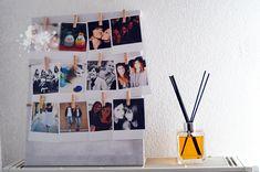 @leblogdes5filles affiche ces #photos sur cette #toile #babou à 5€ & #diffuseur #parfum à 6€