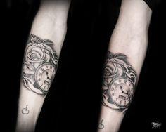 tatuaggeria#tattoo #tattoos #tat #ink #inked #tatuaggeria #TFLers #tattooed #tattoist #coverup #art #design #instaart #instagood #sleevetattoo #rose #poketwatch #photooftheday #tatted #instatattoo #bodyart #tatts #tats #amazingink #tattedup #inkedup