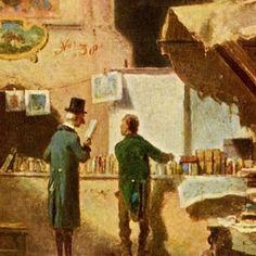 Carl Spitzweg Arts and science 1880 (detail) Carl Spitzweg, February 5, Science, Detail, Artist, Painting, Artists, Painting Art, Paintings