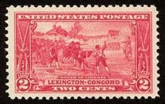Birth of Liberty, Lexington & Concord