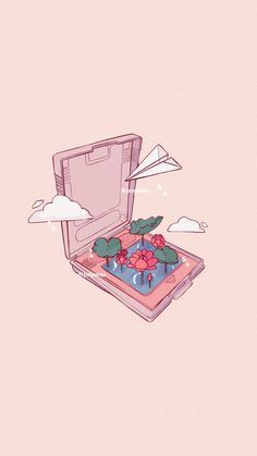 Cute Wallpapers Discover Aesthetic Nintendo Cartridges Water Lily Airplane Clouds Wallpaper Aesthetic Cute Nintendo Cartridges Water Lily Airplane Clouds Wallpaper Doodle Drawing by Poyura Cute Wallpaper Backgrounds, Wallpaper Iphone Cute, Pretty Wallpapers, Cute Cartoon Wallpapers, Cute Wallpaper Images, Aztec Wallpaper, Iphone Backgrounds, Pink Wallpaper, Iphone Wallpapers