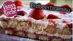 Erdbeertiramisu - Thermomix® - Rezept von Vanys Küche Desserts Thermomix, French Toast, Cheesecake, Food And Drink, Pie, Breakfast, Youtube, Strawberries, Torte