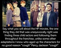 Say what you will about the HP movies the one thing they did...