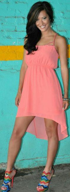 Gorgeous high low dress :3