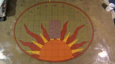 #TEAMPAVERART Interactive Sundial Project! PAVERART will move #HEAVENANDEARTH to bring you new and innovative Hardscaping! #Justthebeginning Design your original piece of ZEN  856-783-7000  www.paverartllc.com