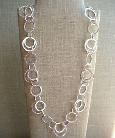 Classic Circle Necklace - Wisteria Jewelry