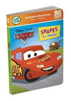 LeapFrog Tag Junior Book Cars Shapes All Around works with LeapReader Junior * Want additional info? Click on the image-affiliate link.