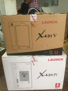 Launch x431 v and iv